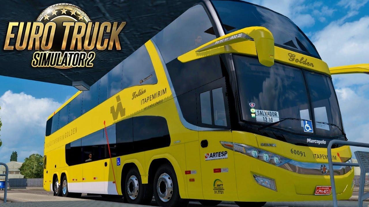 Euro Truck Simulator 2 - Simulador de caminhão e Mod Bus