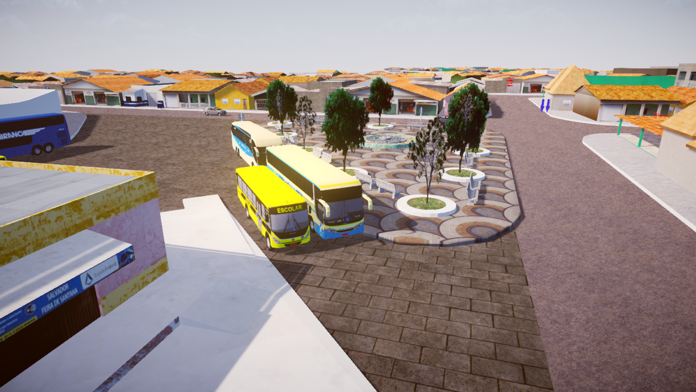 Mapa Rodoviário Bahia BR - Fase 2 Proton Bus - Lukas Gameplays